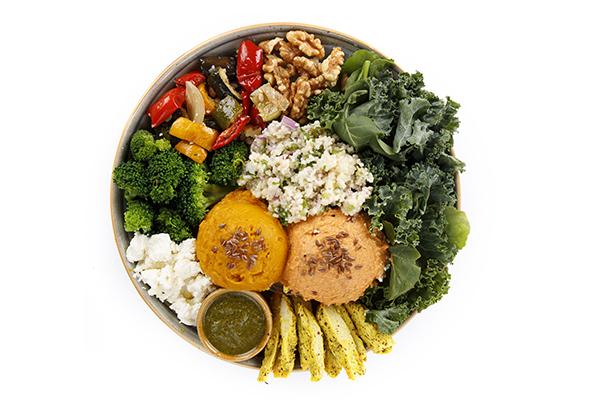 Mediterranean Chicken Bowl (Essential Fatty Acids)