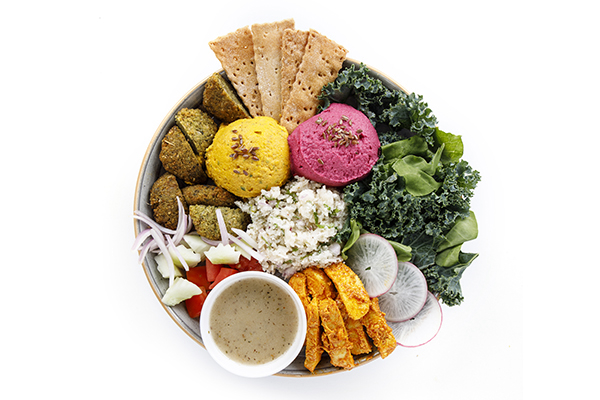 Mezze Bowl (Low Cal and Vitamin E)