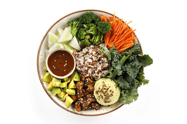 Japanese Chicken Bowl (Healthy Fats Calcium & Iron)