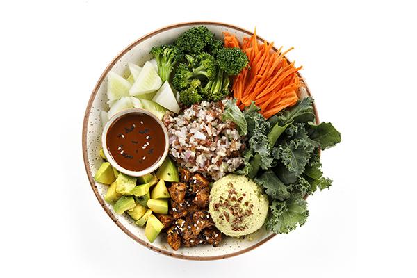 Japanese Tofu Bowl (Healthy Fats Calcium & Iron)