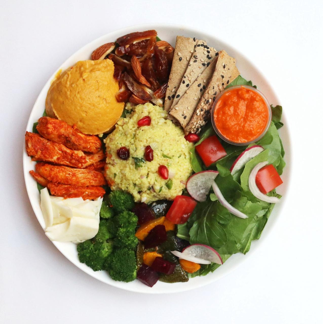 Moroccan Spiced Chicken Bowl (High Protein & Vitamin C)