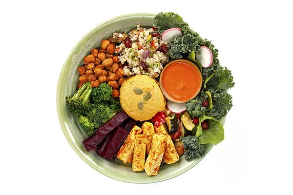 Moroccan Spiced Veggie Bowl (High Protein & Vitamin C)