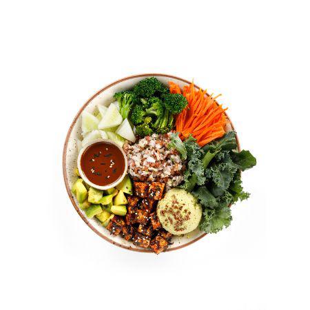 Thai Chicken Bowl (Nutrients & Vitamin B12)