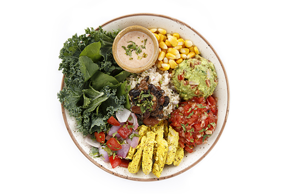 The Burrito Chicken Bowl (High Protein & Vitamin C)