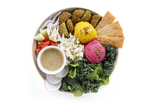 Falafel Bowl (Low Cal & Vitamin E)